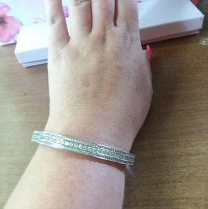 Jewelry - Bangle and matching hoops